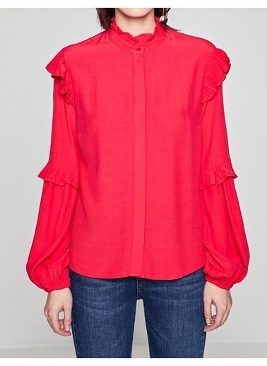 Fırfır Detaylı Gömlek-Koton